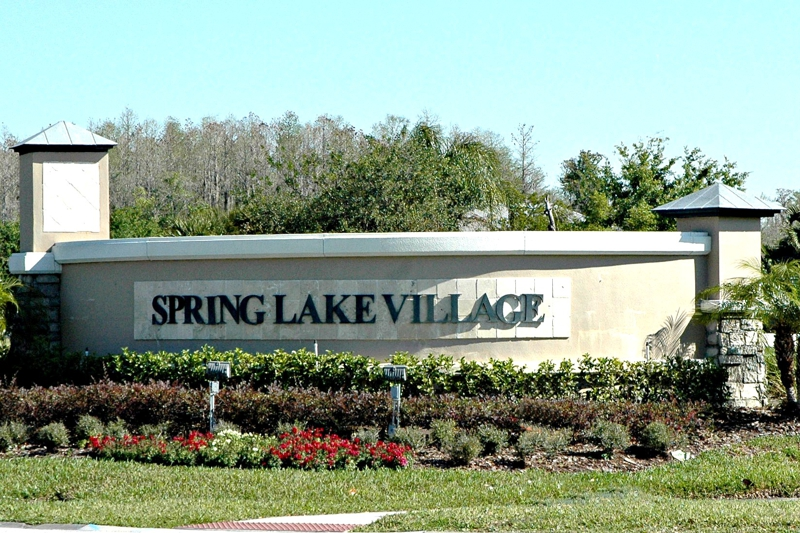 Entrance Spring Lake Village