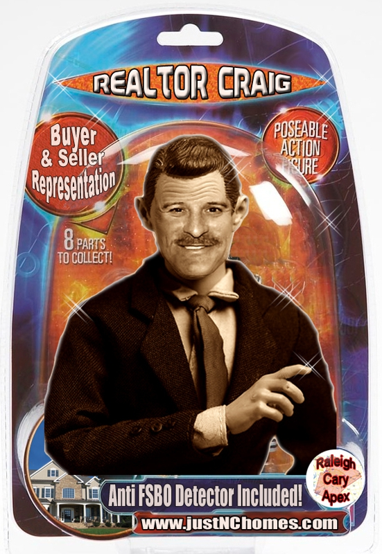 The Realtor Craig Action Figure with Anti FSBO Detector Included!