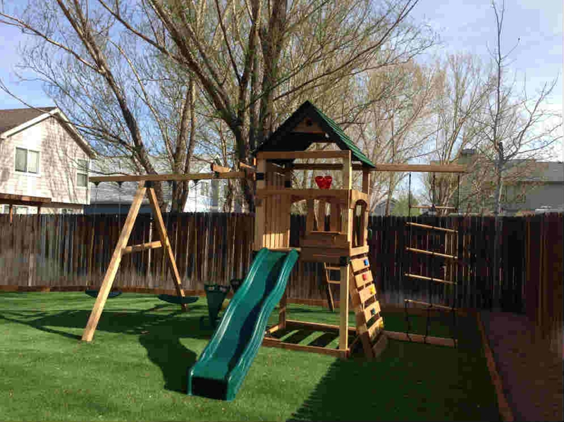 Colorado Springs Home for Sale with Great Play Gym