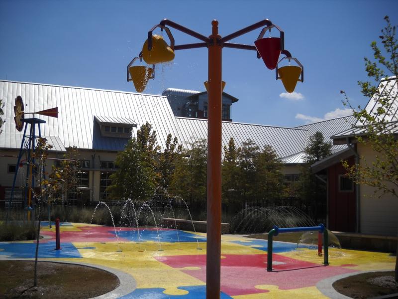 Kids water park in Cross Creek Ranch