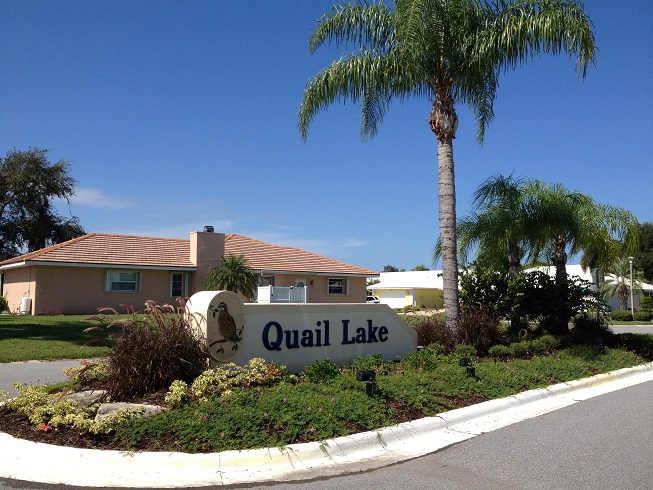 quail lake venice fl homes for sale