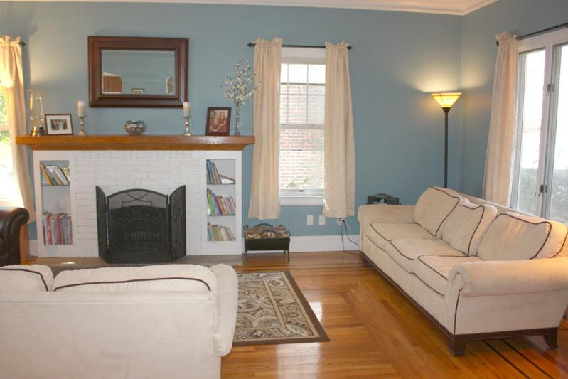 center hall colonial living room ideas center colonial in rutherford nj for 25169