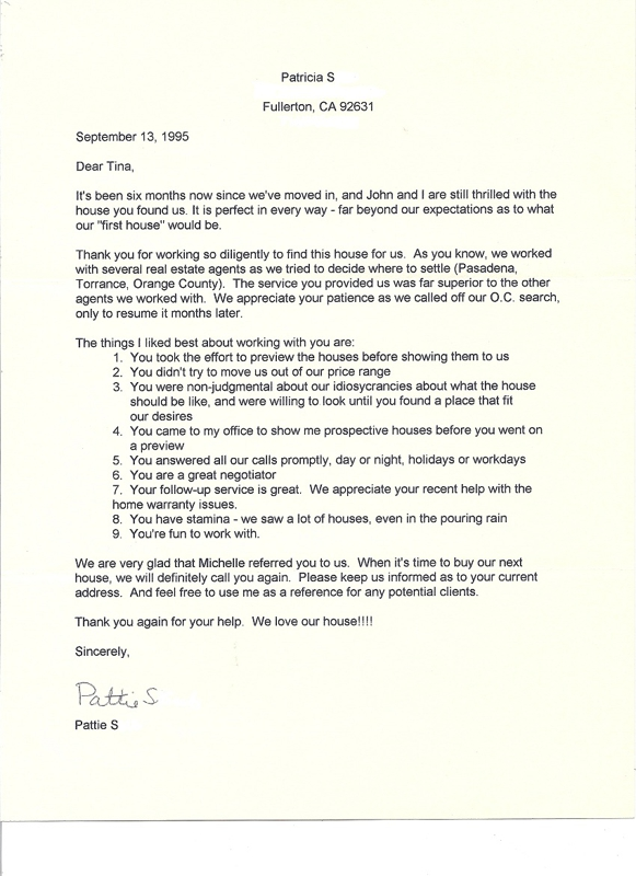 Thank You Letter For Real Estate Agent - Thank You Letter 2017