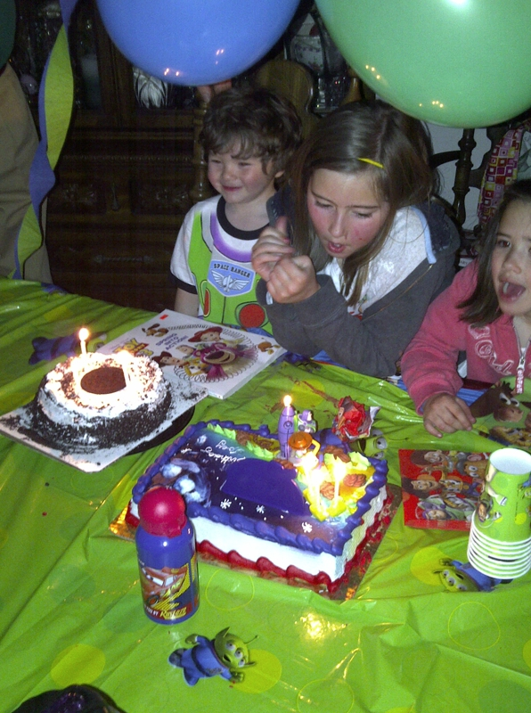 Joey's birthday 1 day early - 4-10-11