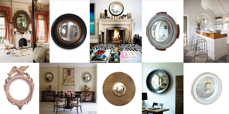 Design Trend Convex Mirrors