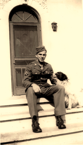 Great Uncle Robert Arnall, US Army World War II