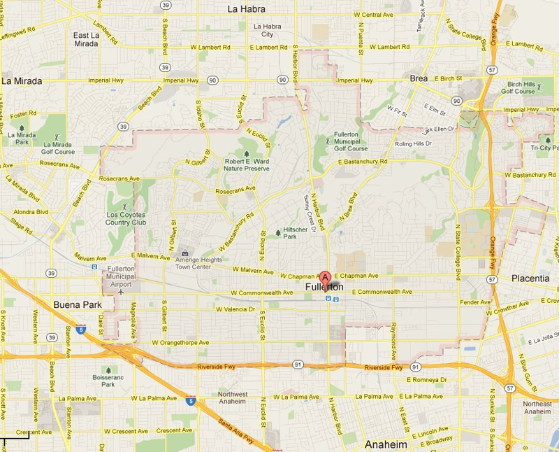 Why You Should Buy A Home In Fullerton CA - Where is brea california on the california map
