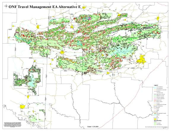 Ouachita National Forest Designated Use Roads to Be Reduced in April ...