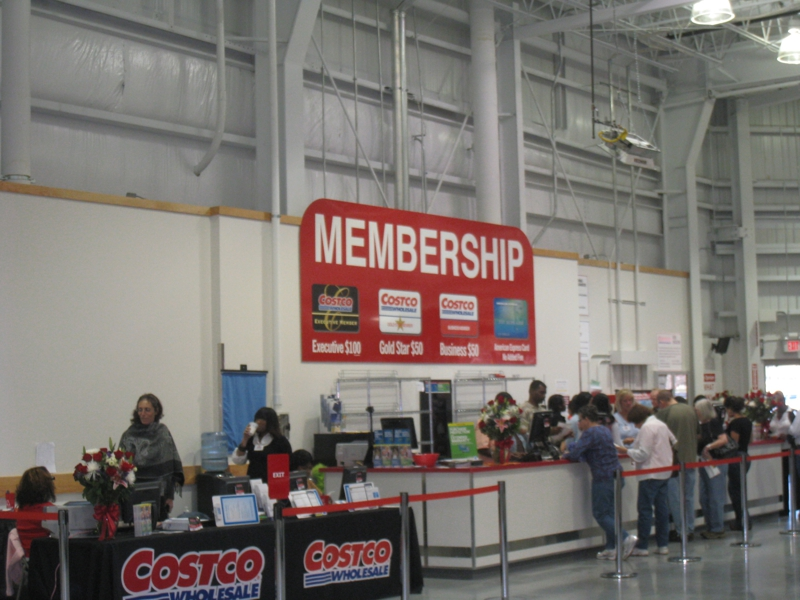 COSTCO Membership Information