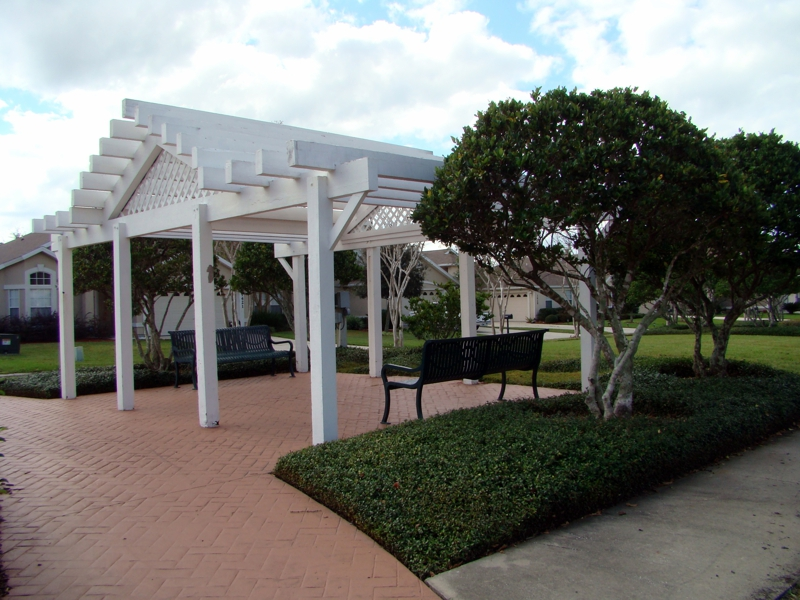 Gazebo in The Woodlands