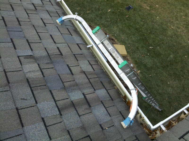 Protect Your Shingles Amp Gutters Use A Ladder Stabilizer