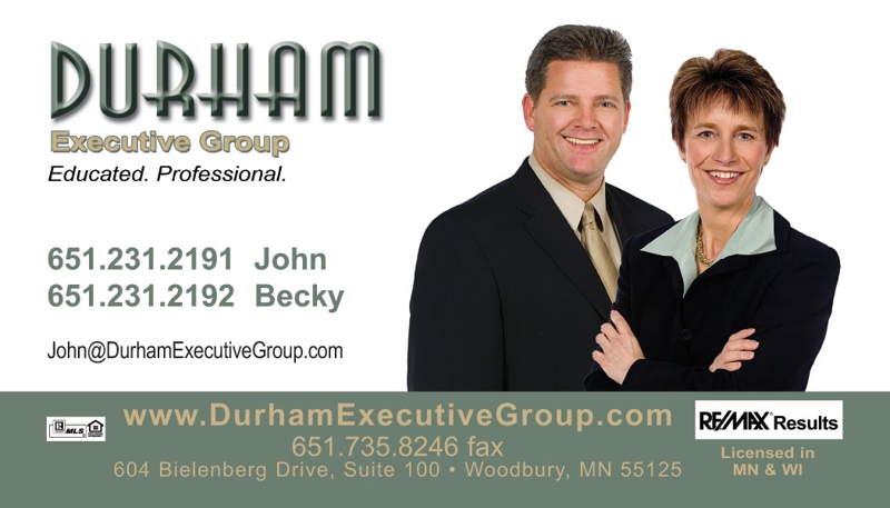 Durham Executive Group - John & Becky Durham