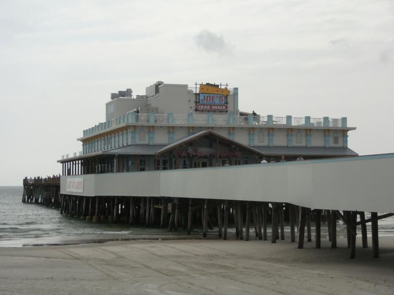 Restaurant Opens On The Daytona Beach Pier