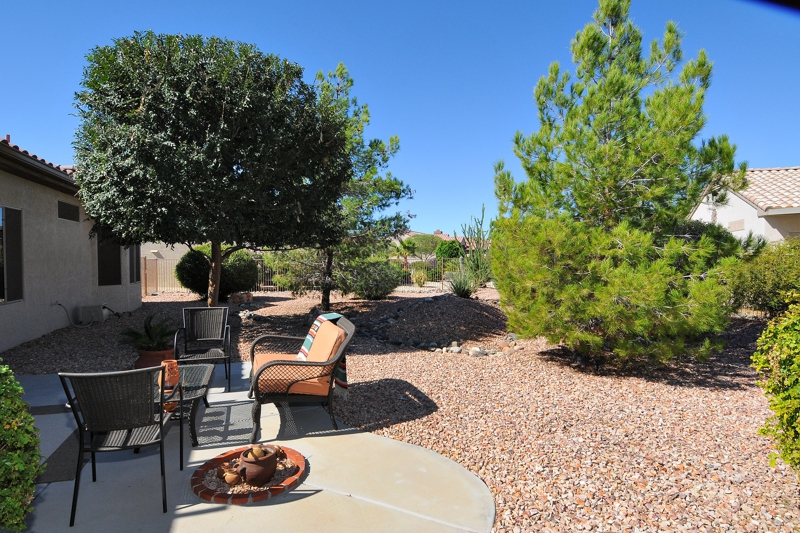 Private Backyard Home Sun City Grand Surprise Az
