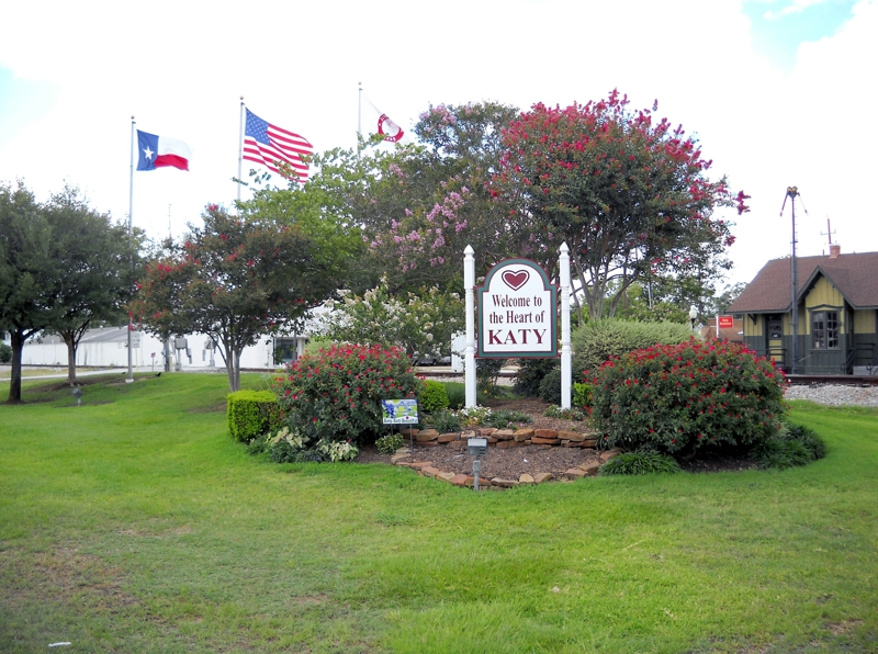 Sign for Old Katy Texas