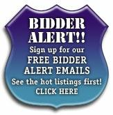 Free Sign Bidder Early Bird Notification of Upcoming Auctions