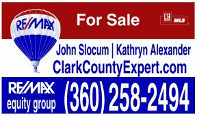 Homes for sale in Vancouver WA and REMAX Vancouver WA with Brokers John Slocum and Kathryn Alexander