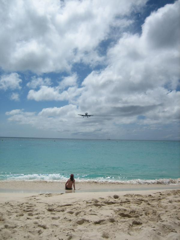 Princess Juliana Airport in St. Martin:  Too close for comfort?