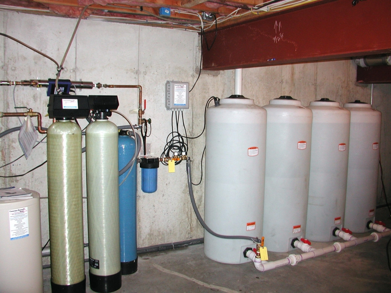 Static Storage With Filtration A Private Water Well