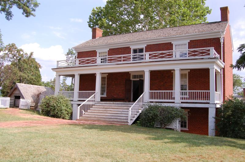 Appomattox Courthouse Map Celebrity Image Gallery - Appomattox court house us map