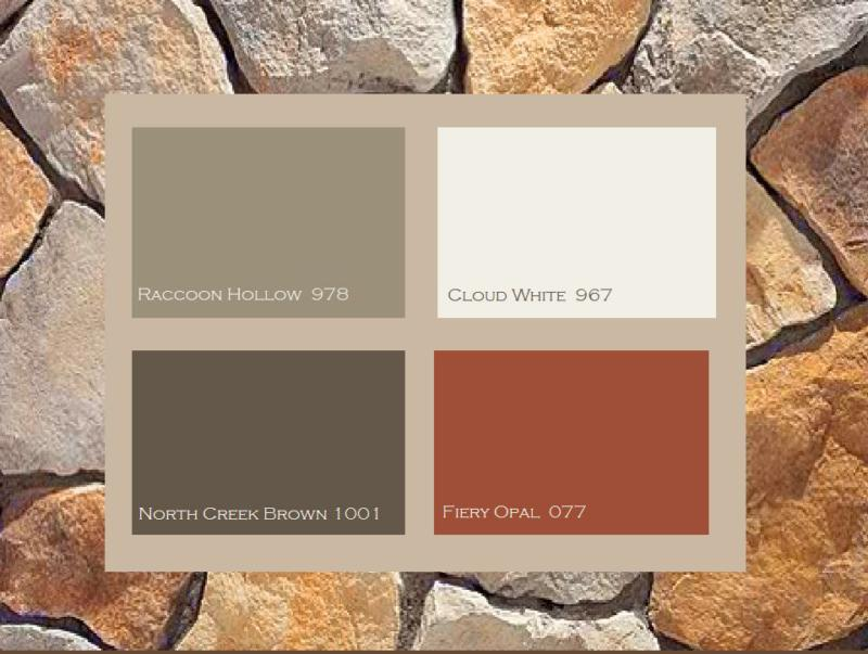 Two awesome house color schemes revealed a ranch house - Orange brick color schemes ...