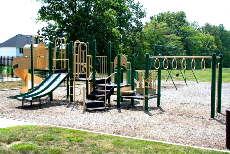 Woodfield playground in Greenwood IN