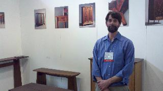 Thomas Throop at Architectural Digest Home Show 2011