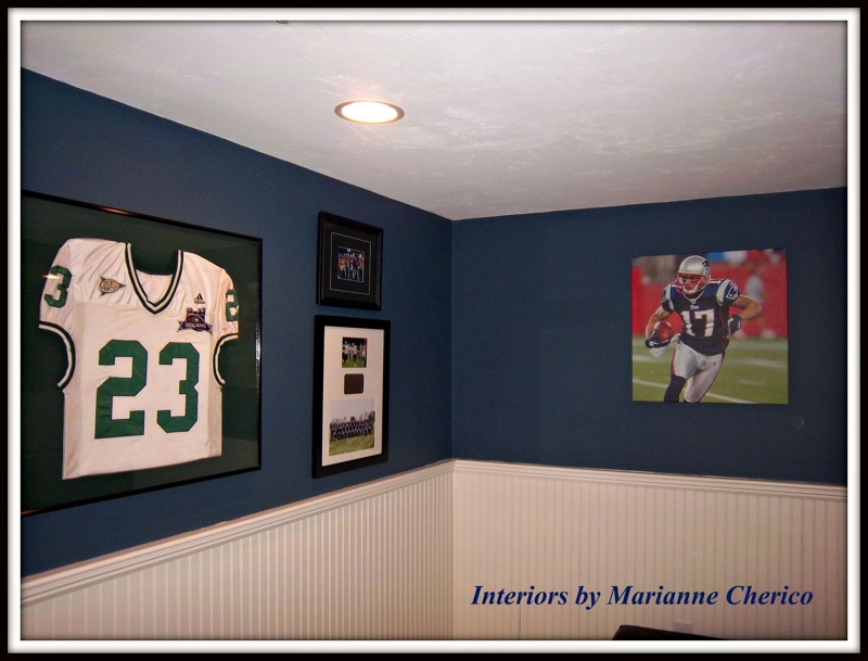 decorating for a new england patriot, foxboro, ma