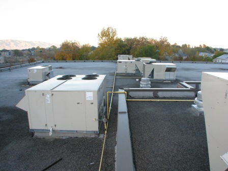 Movie Theater roof top units