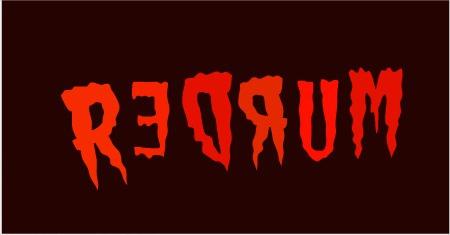 No REDRUM written on REDRUM  sc 1 st  ActiveRain & REDRUM! We Didnu0027t See That On the Door!