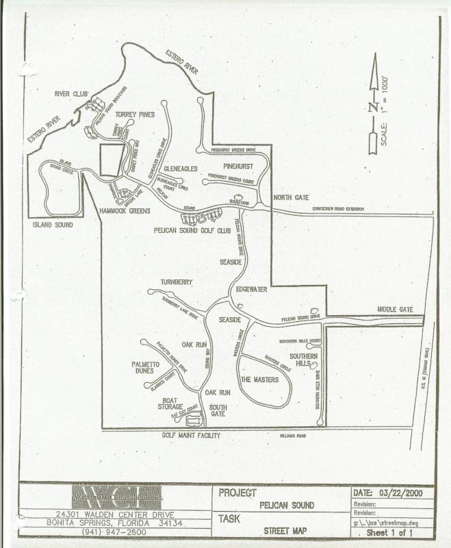 pelican sound site plan