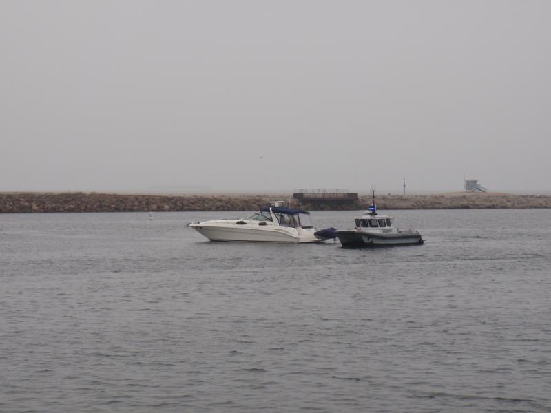 Sherriff's Boat in Marina Del Rey CA