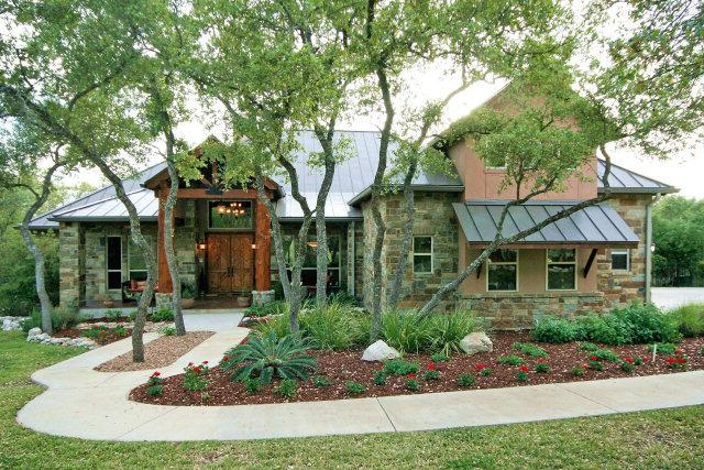 Custom design home new braunfels tx hill country Texas hill country house designs