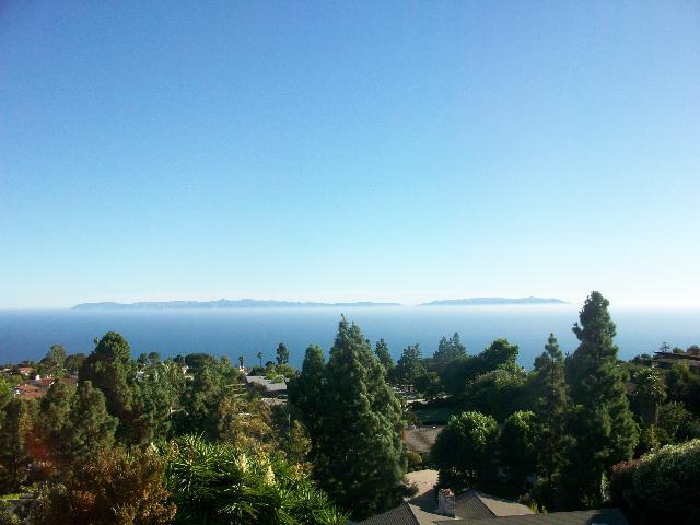 Catalina Island from PV