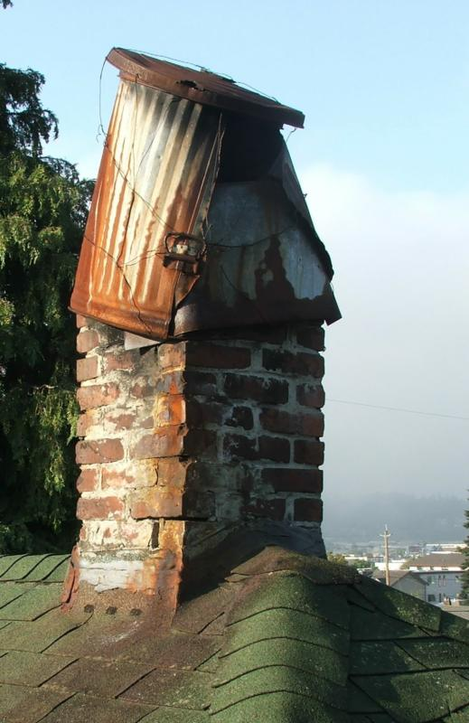 This chimney is garbage