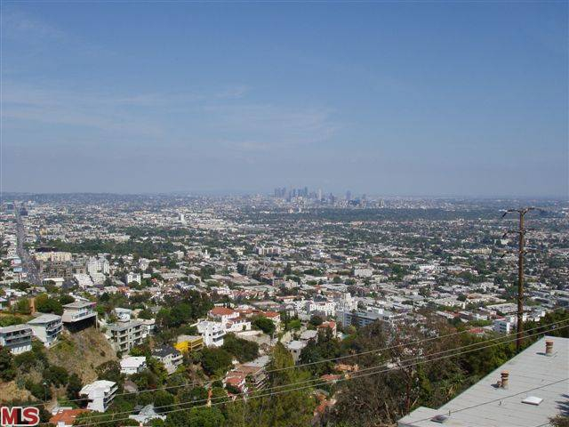 post card view of Downtown Los Angeles Endre Barath