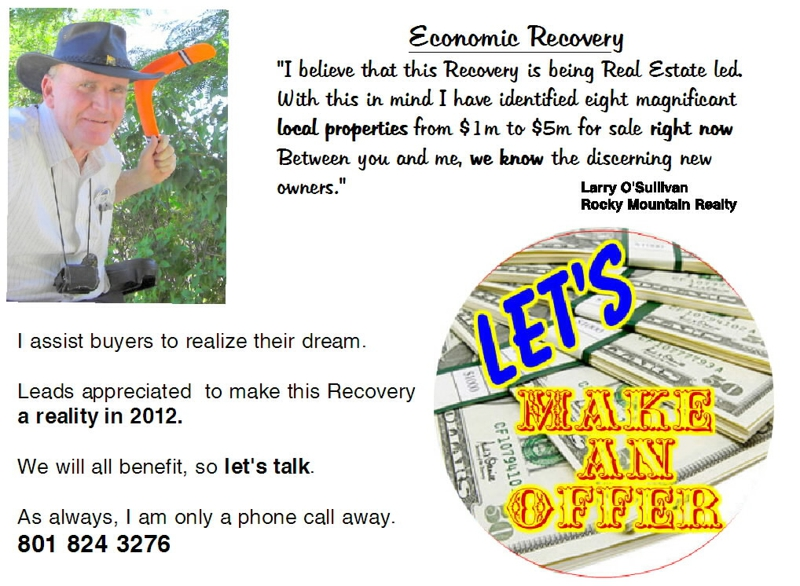 postcard for economic recovery