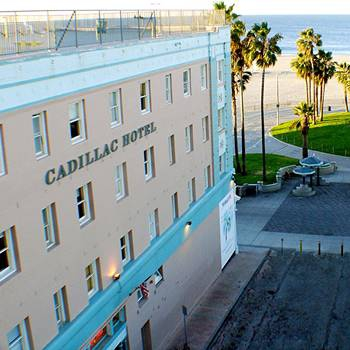 Los Angeles 411 Enjoy The Weekend At Cadillac Hotel In Venice California