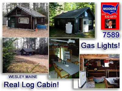 you need just a simple maine log cabin not another home