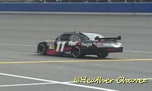 Denny Hamlin wins the 2010 NASCAR Sprint Cup Series race at   Martinsville on March 29, 2010.