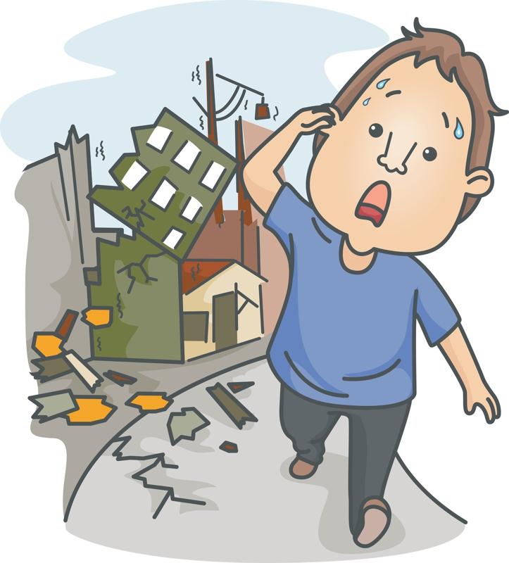 earthquake clipart - photo #37