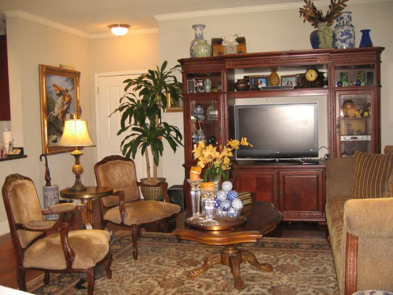 Highly Upgraded Aliso Viejo Condo Living Room