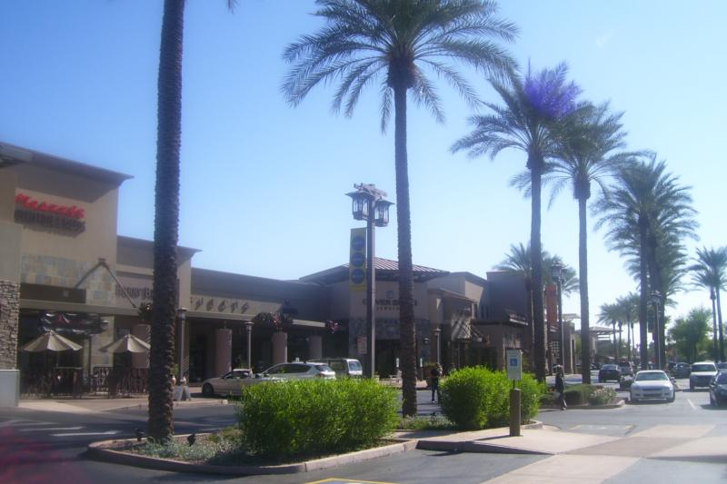 Shops at Gainey Village in Scottsdale