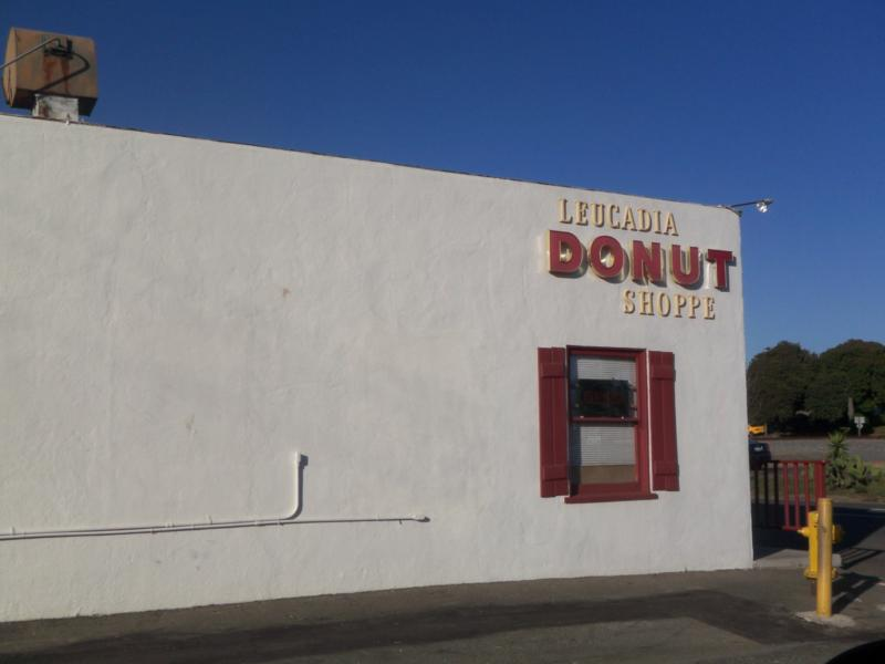 The famous and popular Leucadia Donut Shop