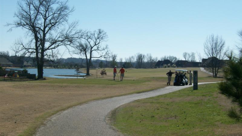 Golfers enjoy playing at Patrick Farms by Pat Starnes