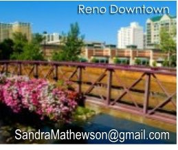 downtown Reno NV bridge