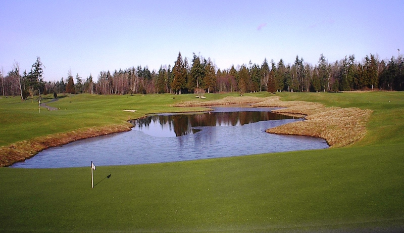 View Of Loomis Trail Golf Course