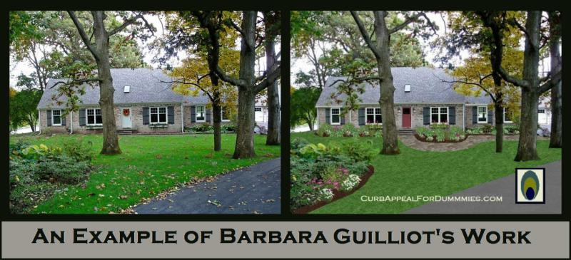 Example of Barbara Guilliot's Exterior Work