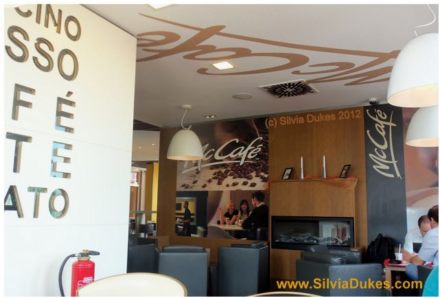 McCafe in Germany by Silvia Dukes