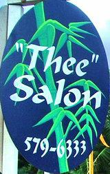 thee salon sign
